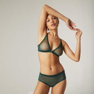 Shorty - Vert amazone