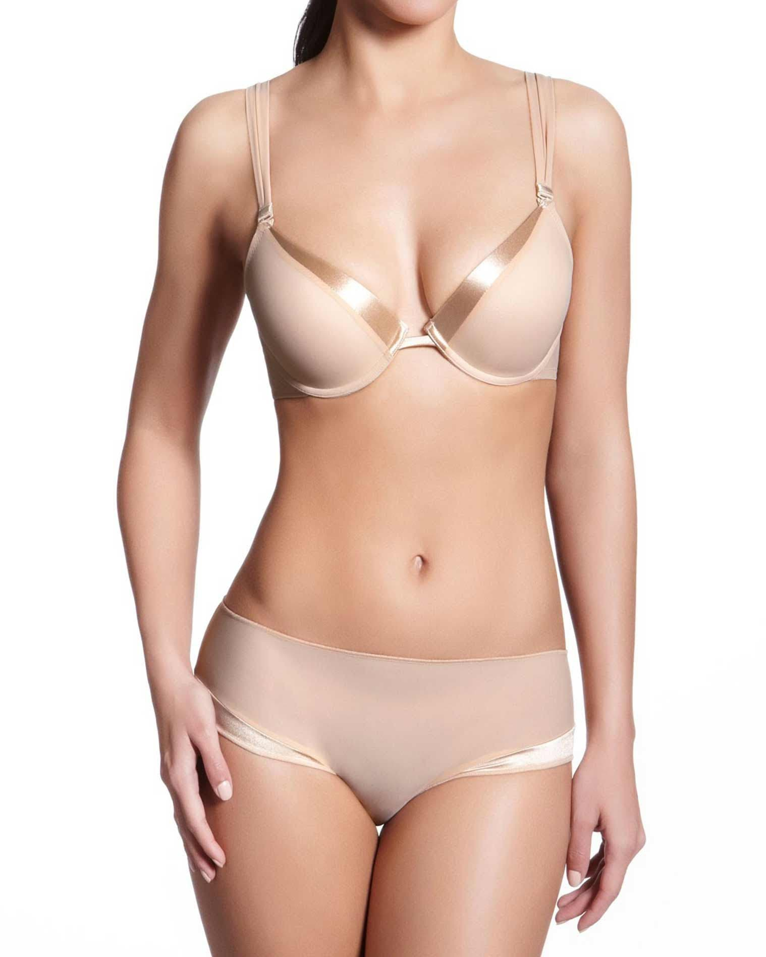 Soutien-gorge push-up moulé - Dune
