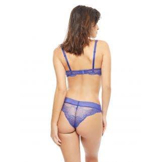 Soutien-gorge corbeille - Bleu électrique